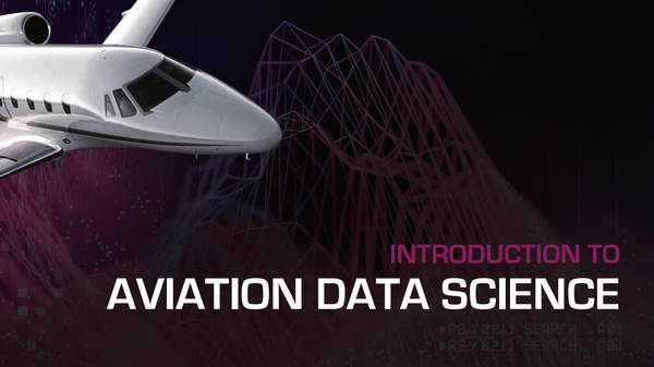 Upcoming Event: Aviation Data Science Short Course